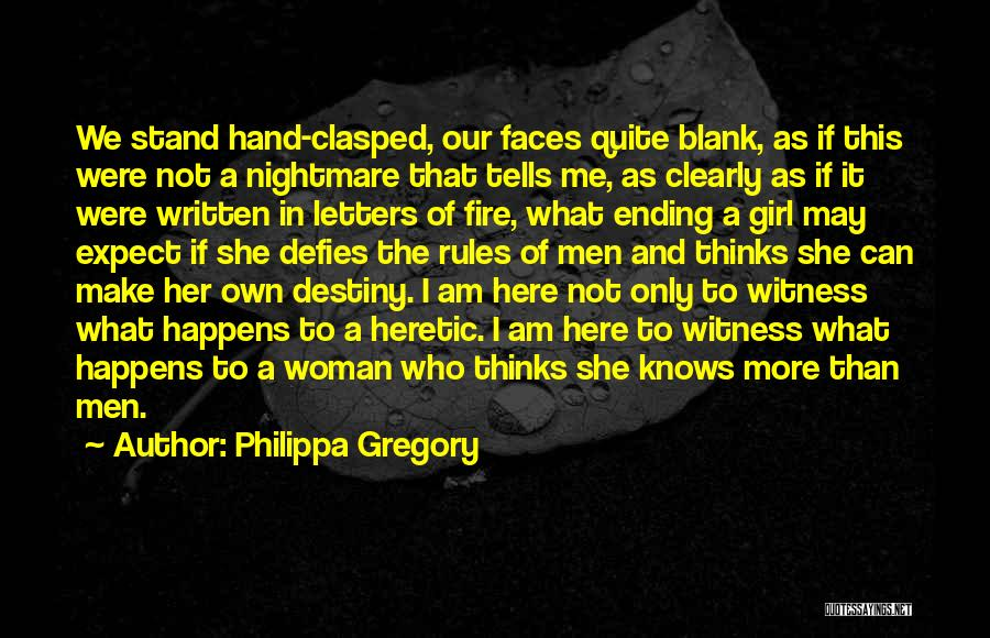 Women's Rights To Education Quotes By Philippa Gregory
