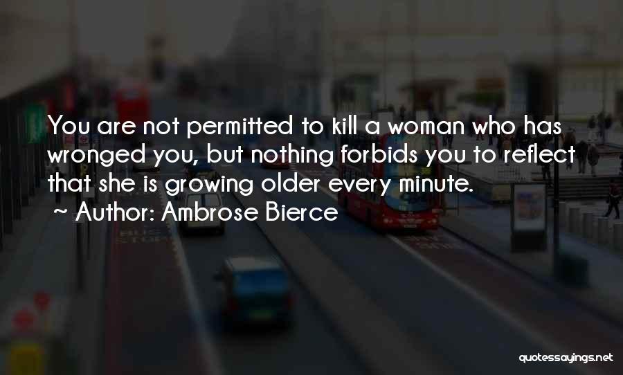 Women's Vanity Quotes By Ambrose Bierce
