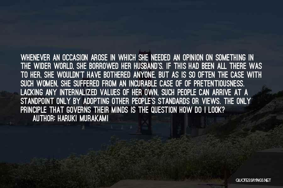 Women's Vanity Quotes By Haruki Murakami