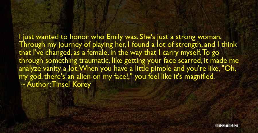 Women's Vanity Quotes By Tinsel Korey