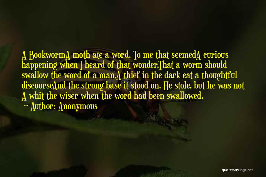 Wonder Man Quotes By Anonymous