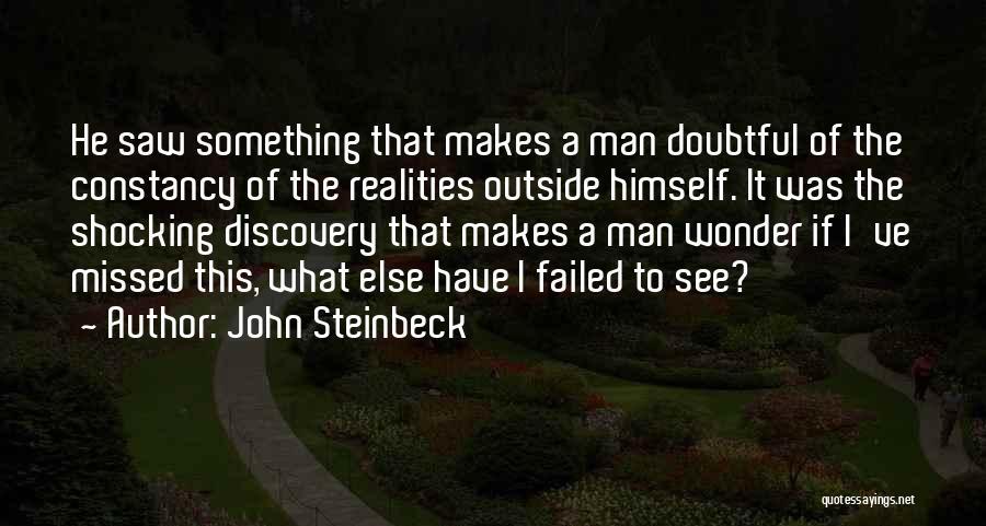 Wonder Man Quotes By John Steinbeck