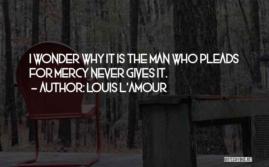 Wonder Man Quotes By Louis L'Amour