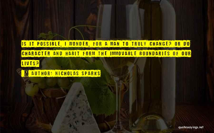 Wonder Man Quotes By Nicholas Sparks