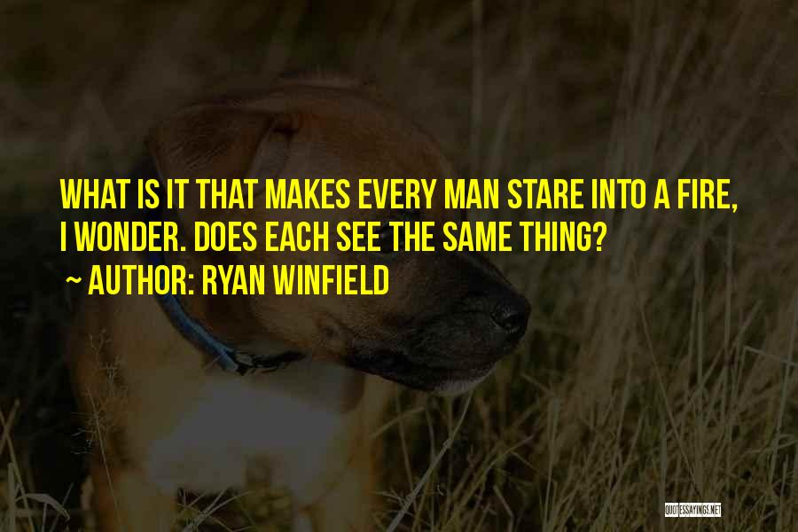 Wonder Man Quotes By Ryan Winfield