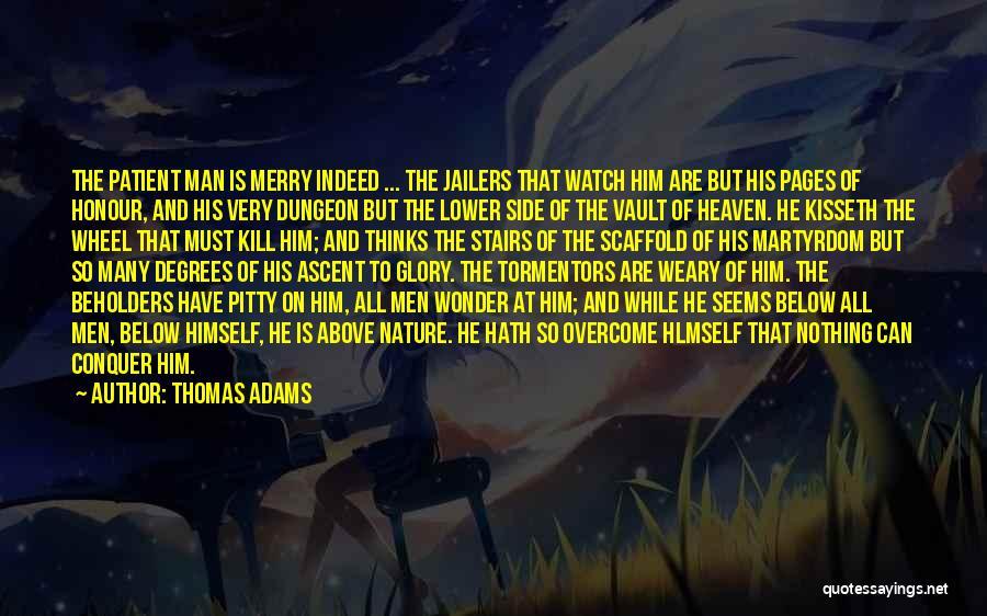 Wonder Man Quotes By Thomas Adams
