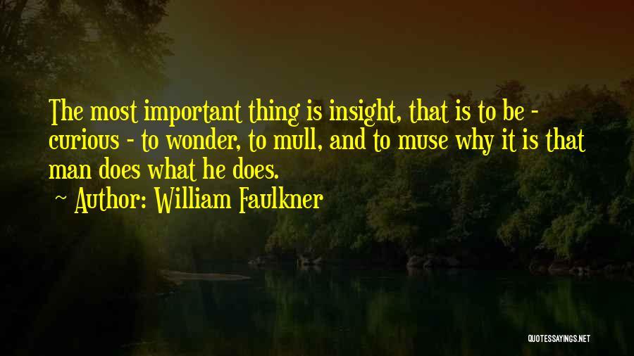 Wonder Man Quotes By William Faulkner