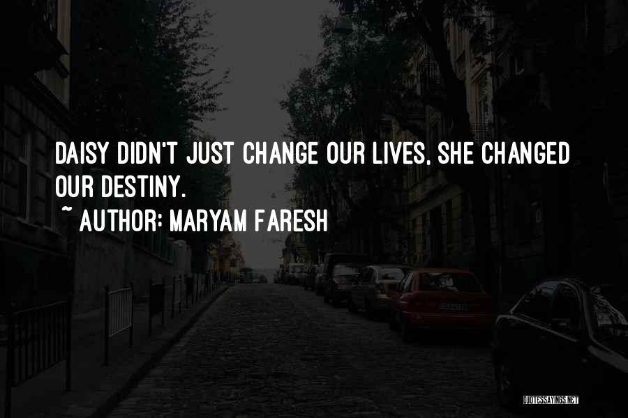 Wonder Pets Quotes By Maryam Faresh