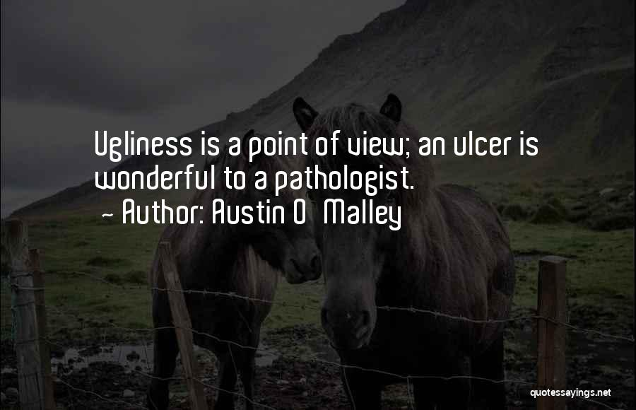 Wonderful View Quotes By Austin O'Malley