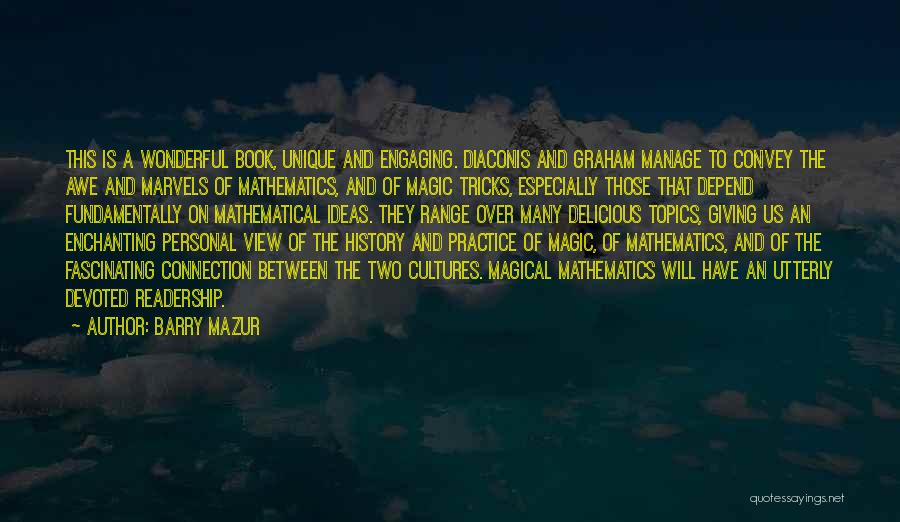 Wonderful View Quotes By Barry Mazur