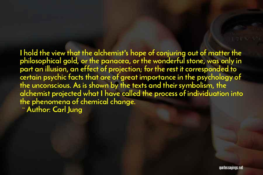 Wonderful View Quotes By Carl Jung