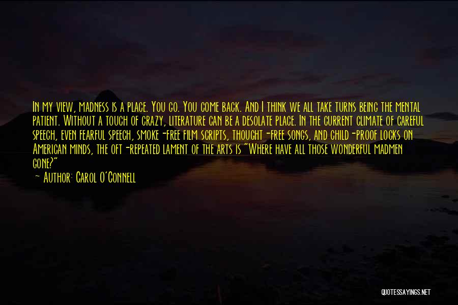Wonderful View Quotes By Carol O'Connell
