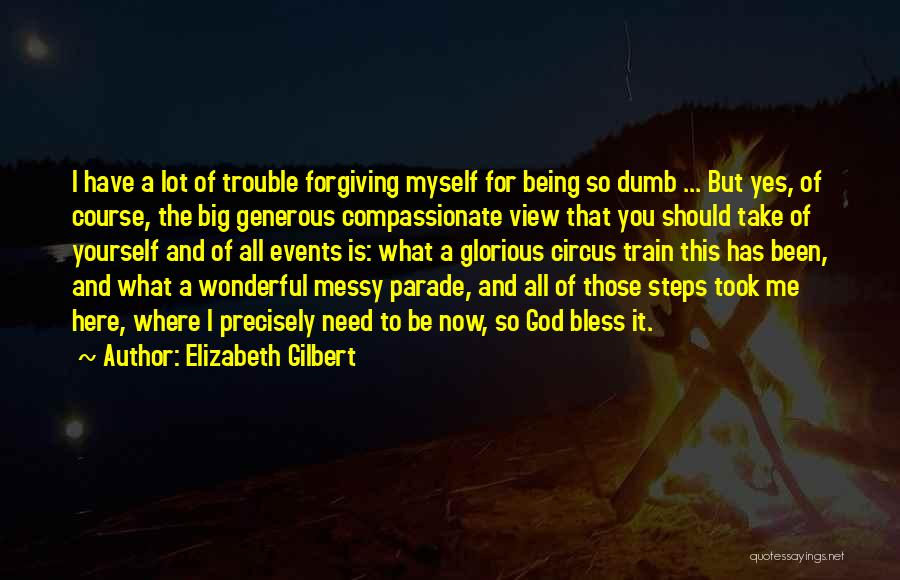 Wonderful View Quotes By Elizabeth Gilbert
