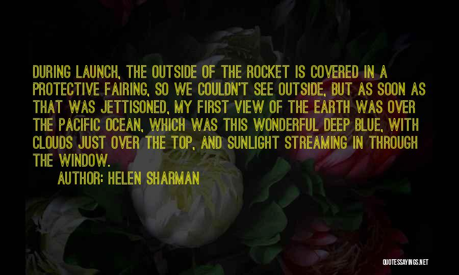 Wonderful View Quotes By Helen Sharman
