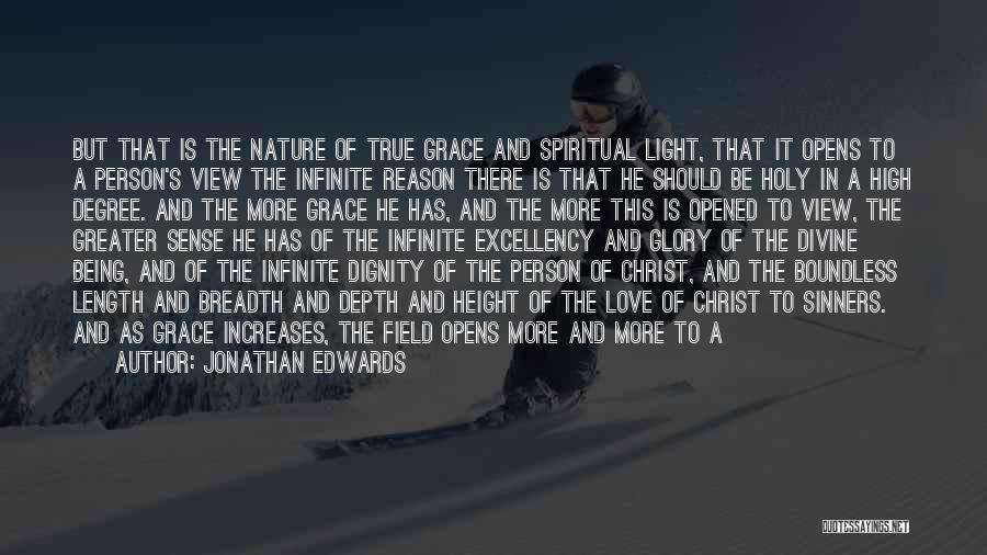 Wonderful View Quotes By Jonathan Edwards
