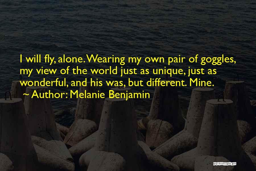 Wonderful View Quotes By Melanie Benjamin
