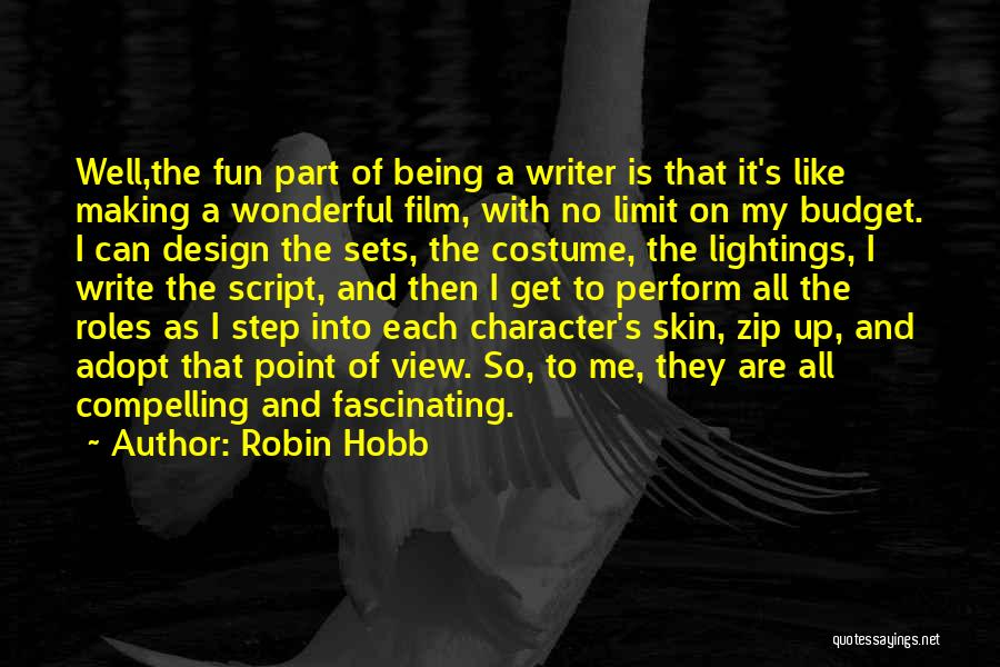Wonderful View Quotes By Robin Hobb