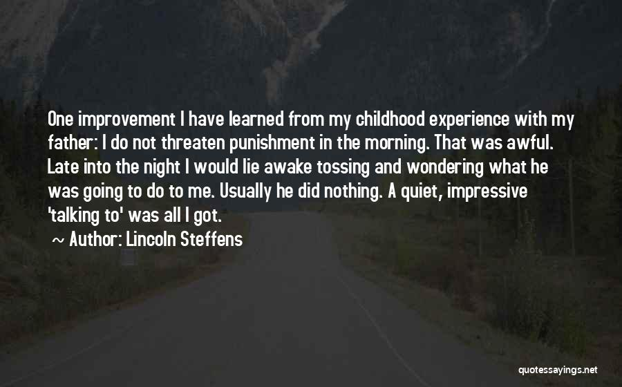 Wondering What To Do Quotes By Lincoln Steffens
