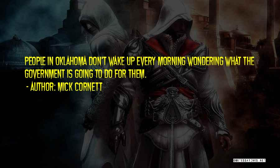 Wondering What To Do Quotes By Mick Cornett