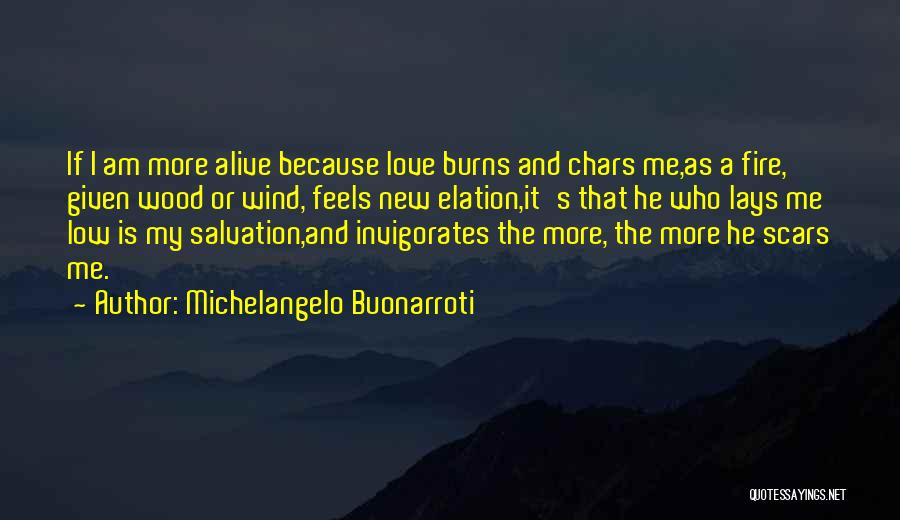 Wood And Love Quotes By Michelangelo Buonarroti