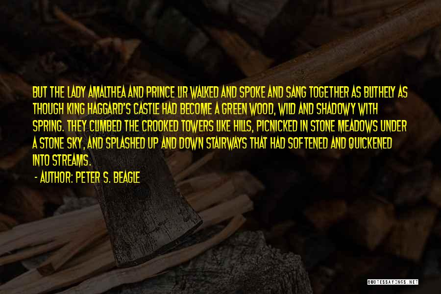 Wood And Love Quotes By Peter S. Beagle