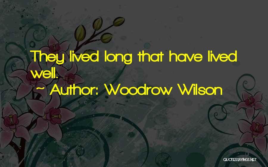 Woodrow Wilson Quotes 104671