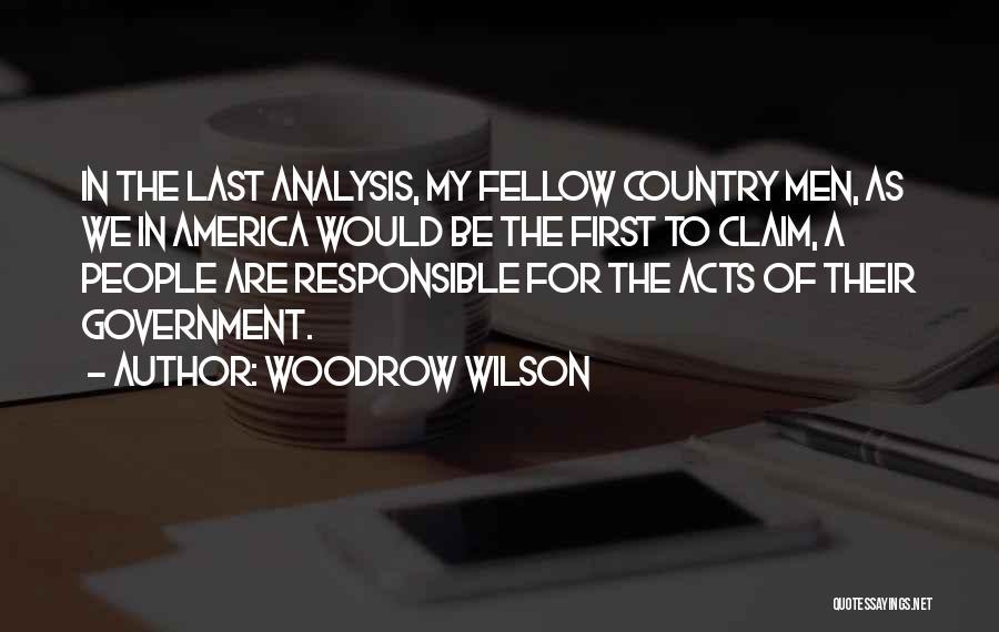 Woodrow Wilson Quotes 2079768