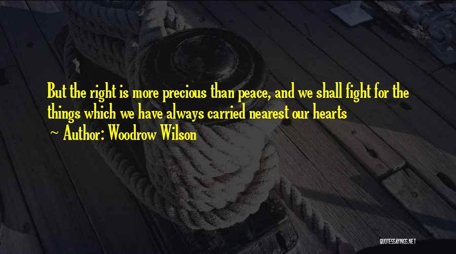 Woodrow Wilson Quotes 319437
