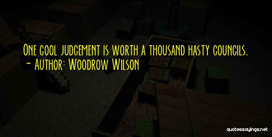 Woodrow Wilson Quotes 895455