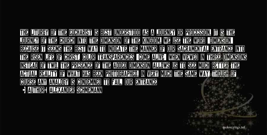 Word In Quotes By Alexander Schmemann