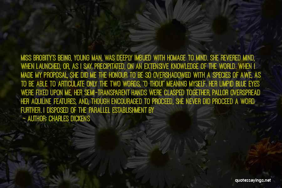 Word In Quotes By Charles Dickens