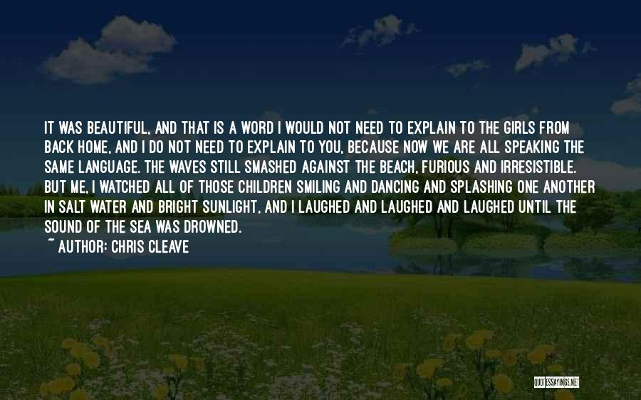 Word In Quotes By Chris Cleave