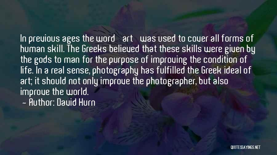 Word In Quotes By David Hurn