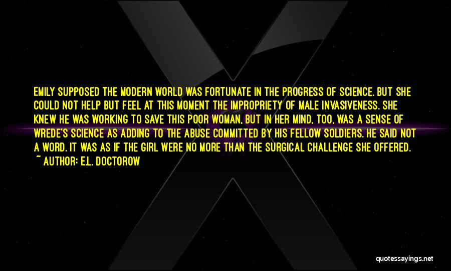 Word In Quotes By E.L. Doctorow