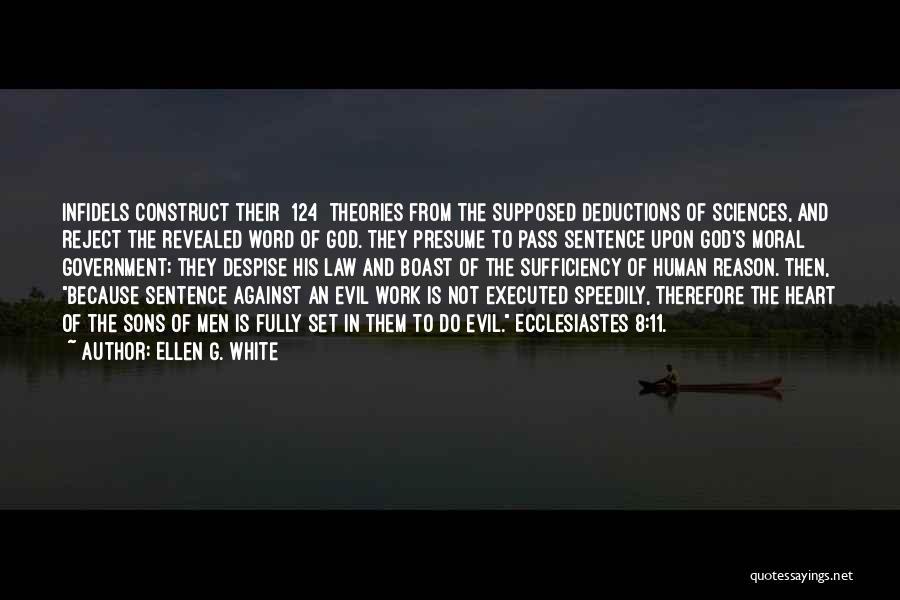 Word In Quotes By Ellen G. White