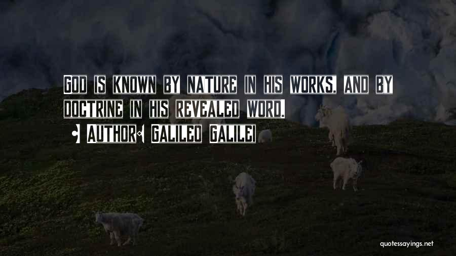 Word In Quotes By Galileo Galilei