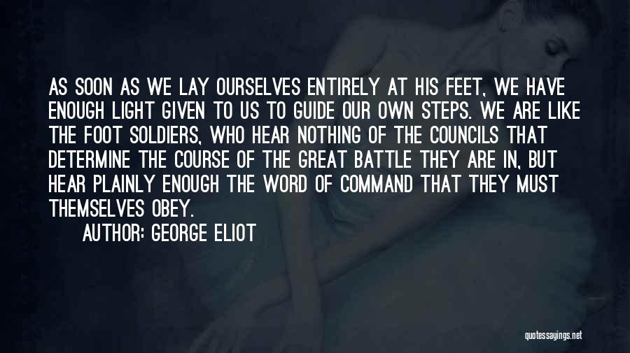 Word In Quotes By George Eliot