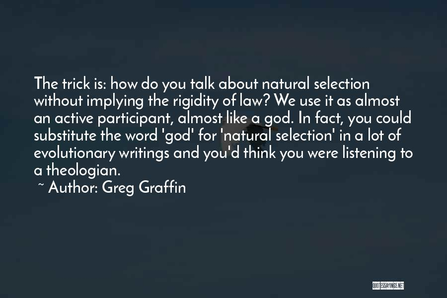 Word In Quotes By Greg Graffin