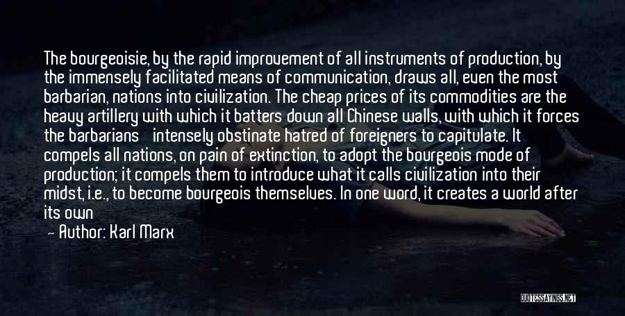 Word In Quotes By Karl Marx