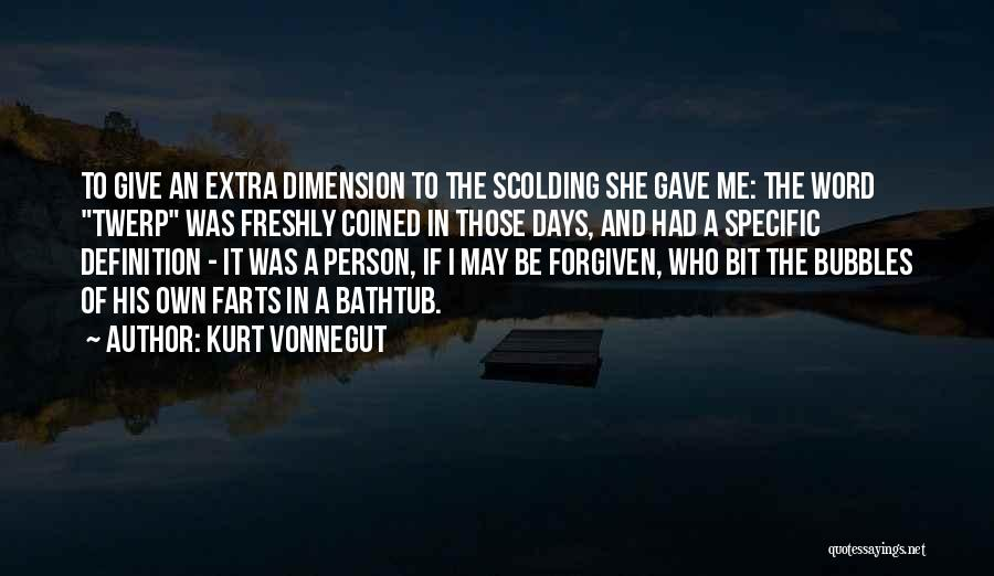 Word In Quotes By Kurt Vonnegut