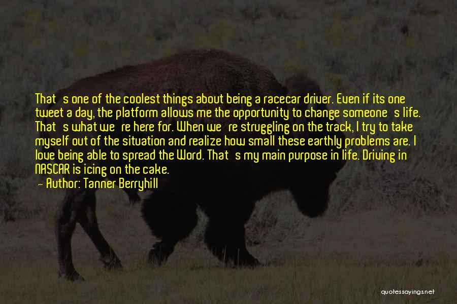 Word In Quotes By Tanner Berryhill