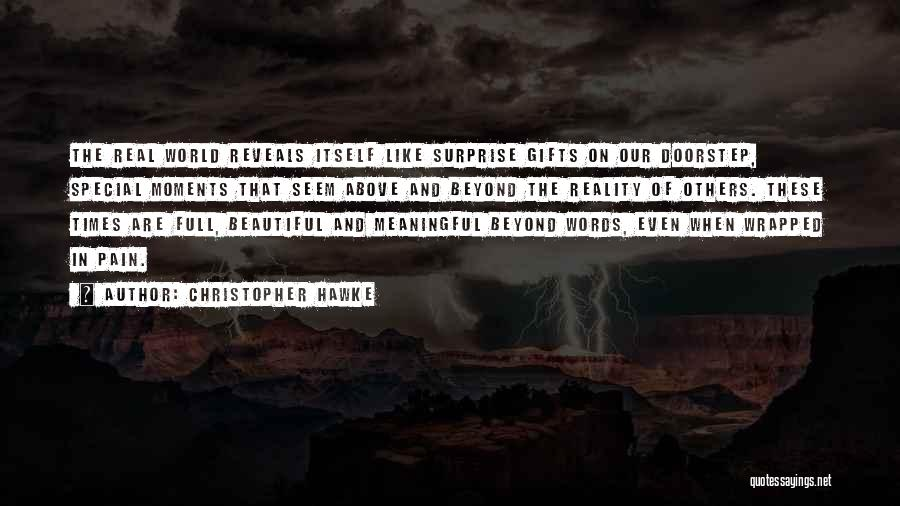 Words Are Meaningful Quotes By Christopher Hawke