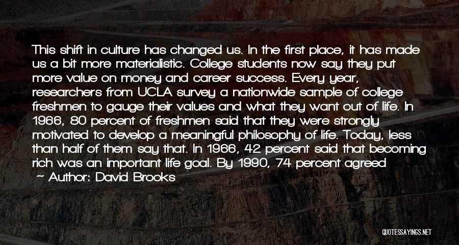 Words Are Meaningful Quotes By David Brooks
