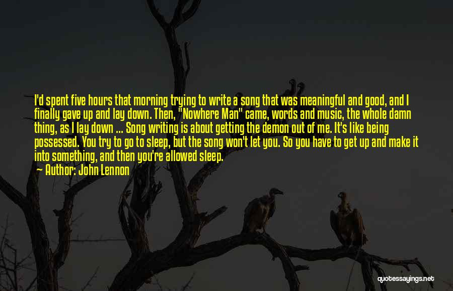 Words Are Meaningful Quotes By John Lennon