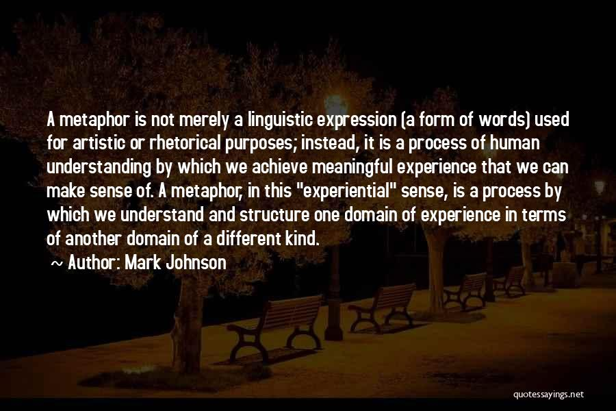 Words Are Meaningful Quotes By Mark Johnson
