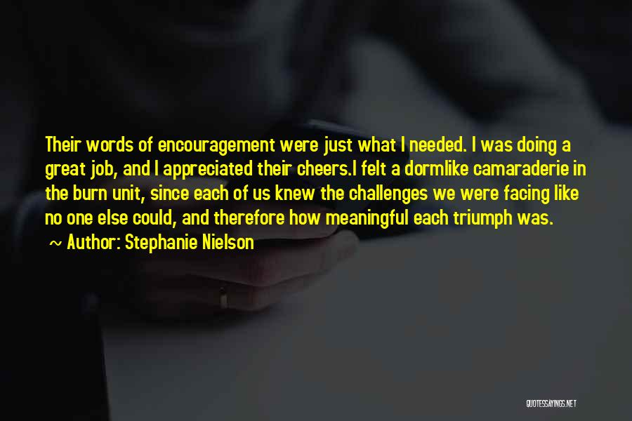 Words Are Meaningful Quotes By Stephanie Nielson