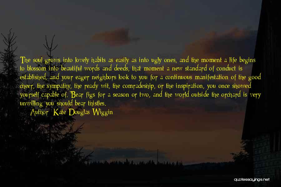 Words For Friends Quotes By Kate Douglas Wiggin