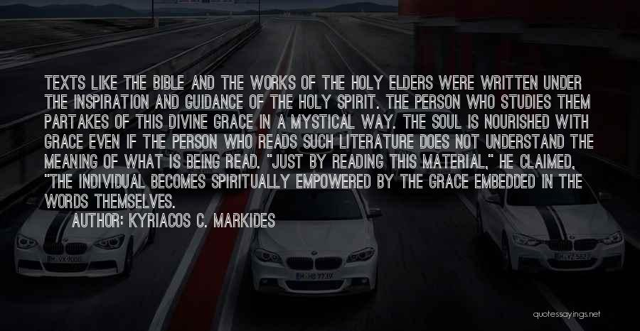 Words Just Being Words Quotes By Kyriacos C. Markides