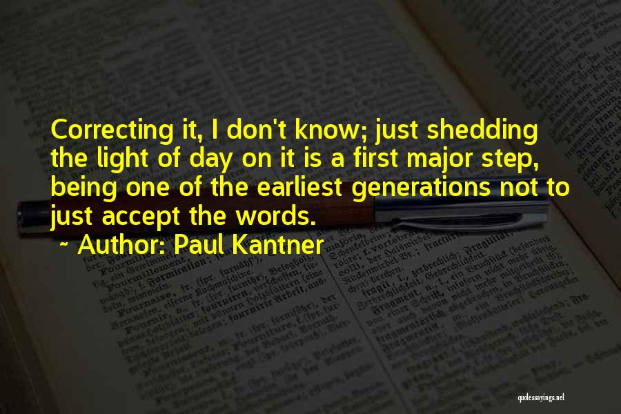 Words Just Being Words Quotes By Paul Kantner