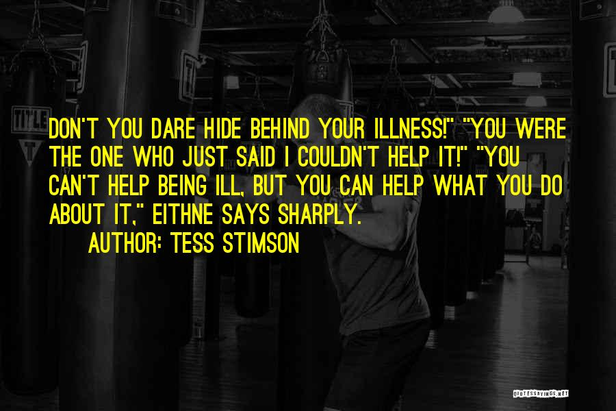 Words Just Being Words Quotes By Tess Stimson